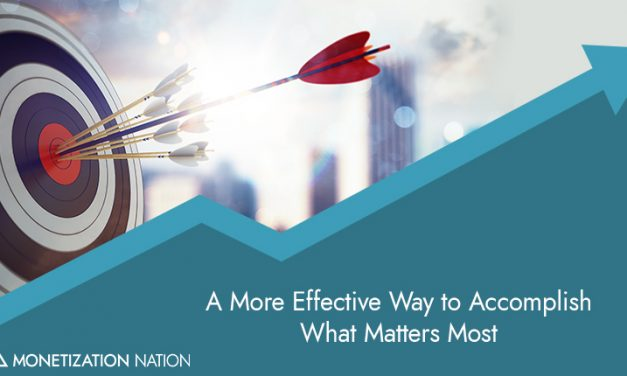 6. A More Effective Way to Accomplish What Matters Most