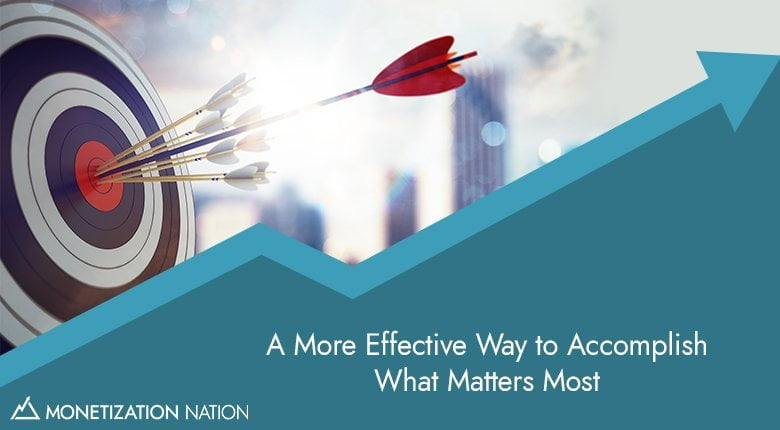more effective way accomplish what matters most