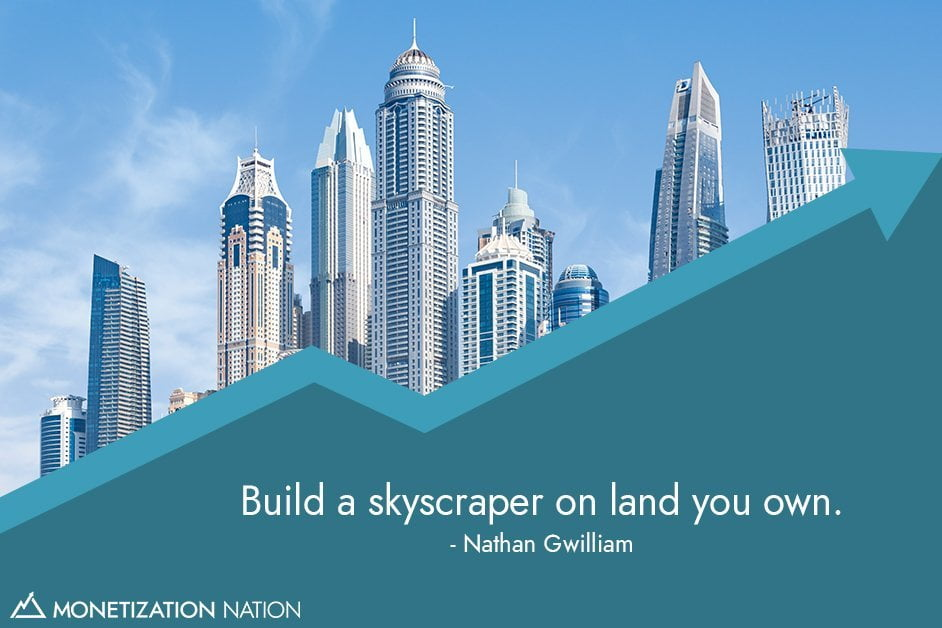 Build a skyscraper on land you own