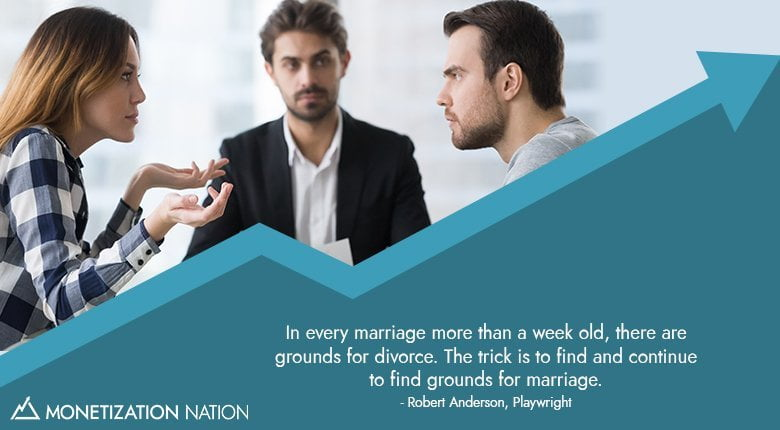 In every marriage more than a week old
