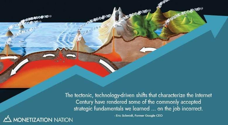 the tectonic technology driven shifts