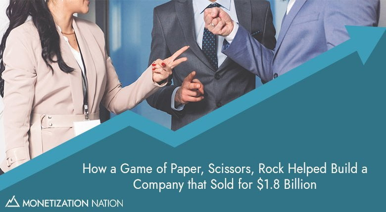 how a game of paper, scissors, rock