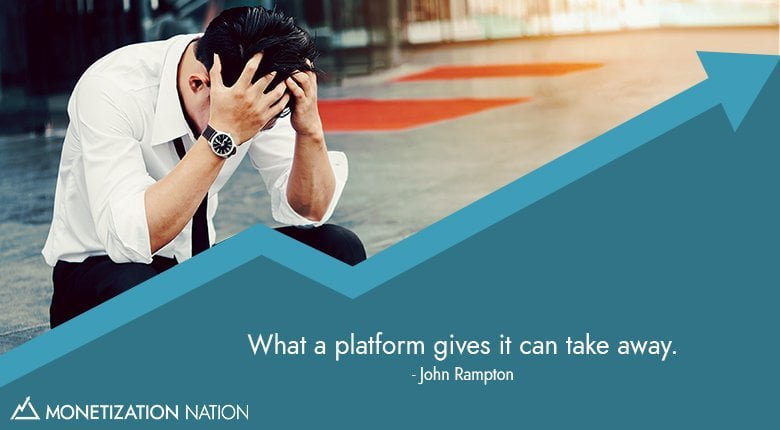 what a platform gives it can take away