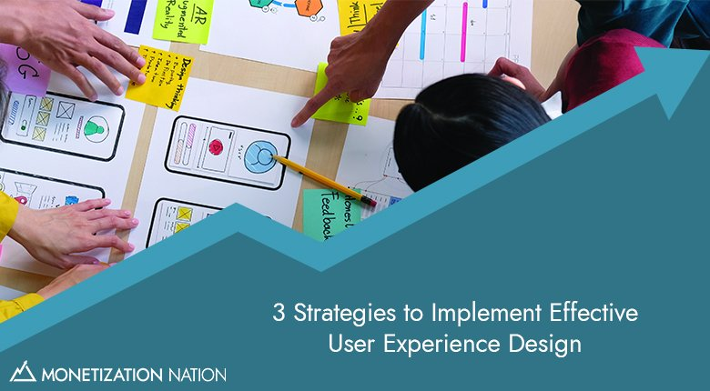 36. 3 Strategies to Implement Effective User Experience Design