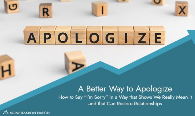52. A Better Way to Apologize