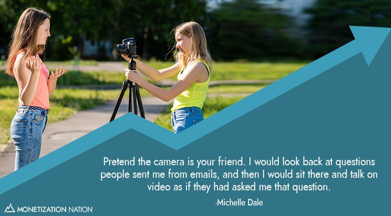 Pretend the camera is your friend_Blog