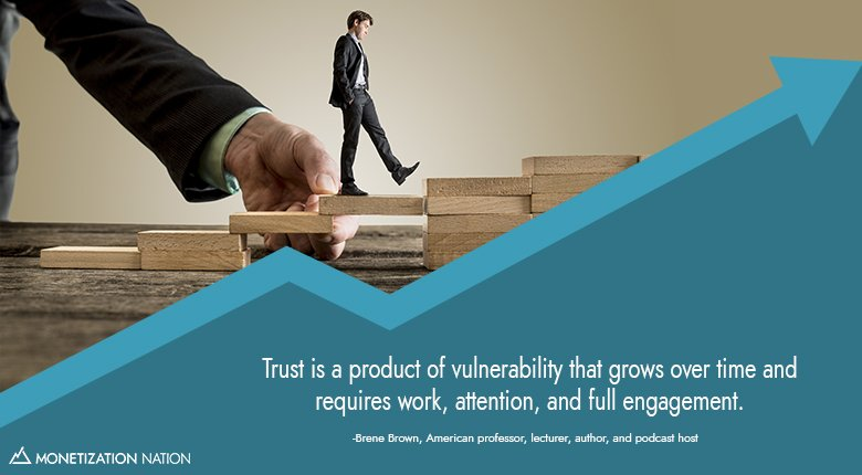 Trust is a product of vulnerability_Blog