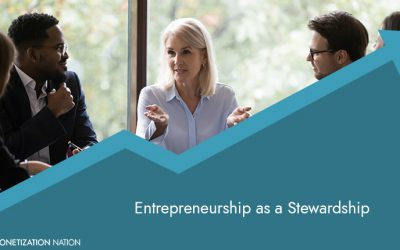 73. Entrepreneurship is a Stewardship