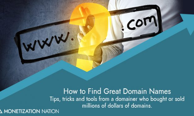 How to Find Great Domain Names