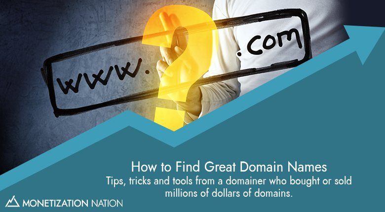 85. How to Find Great Domain Names