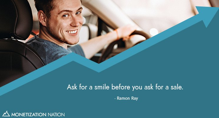 Ask for a smile_Linked in