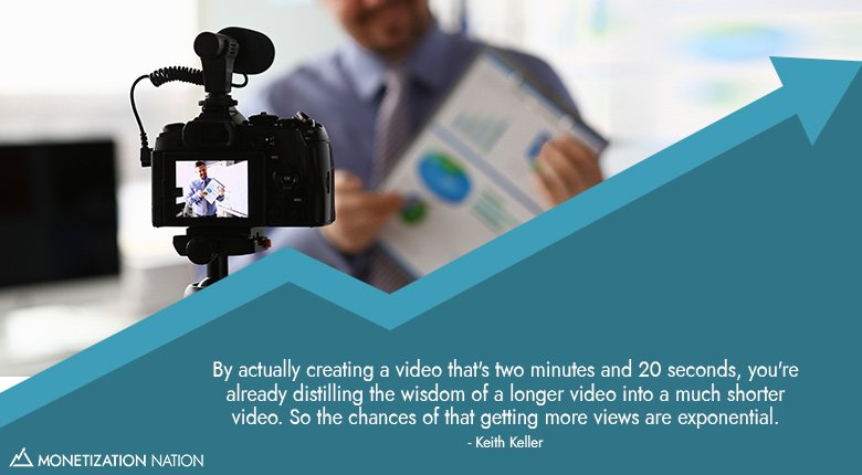 By actually creating a video_Blog