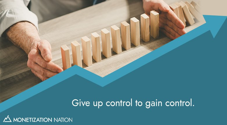 Give up control_Blog