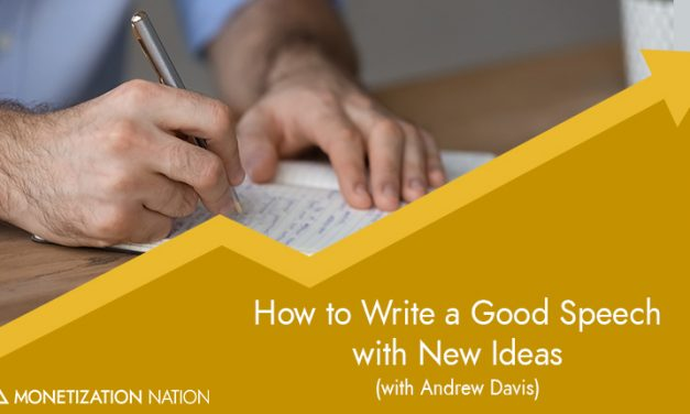 How to Write a Good Speech with New Ideas